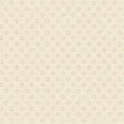 Braveheart by Makower UK - 6631 - Pink Circles on Cream - 8515_RL - Cotton Fabric